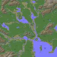 Three Rivers Region - Three rivers that boarder canada and us map