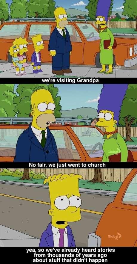 The 15 Greatest Simpsons Religion Jokes