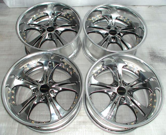Deep dish SSR FELLINI LS5 alloy rims wheels 19 x 10J 5x114 Celsi